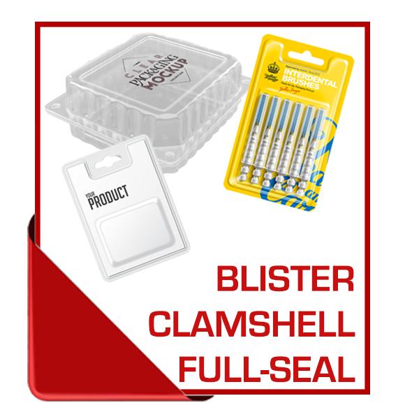 Blister Clamshell Full-Seal