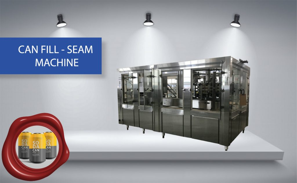 CAN FILL-SEAM MACHINE