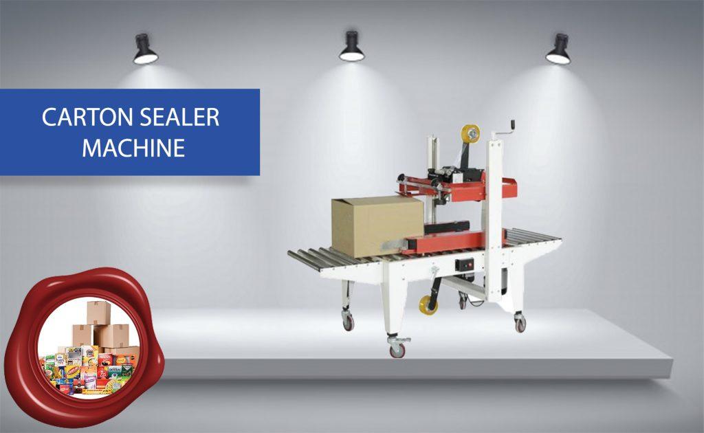 NEW CARTON SEALER MACHINE