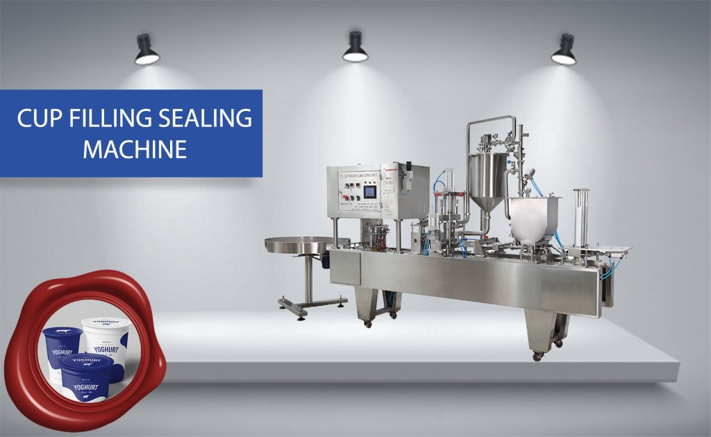 cUP FILLING SEALMING MACHINE